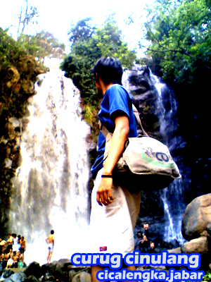 me and curug cinulang